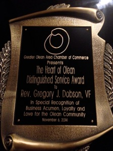 award-heart of olean