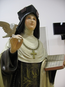 St. Teresa of Avila statue