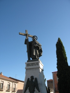 St. John of the Cross statue