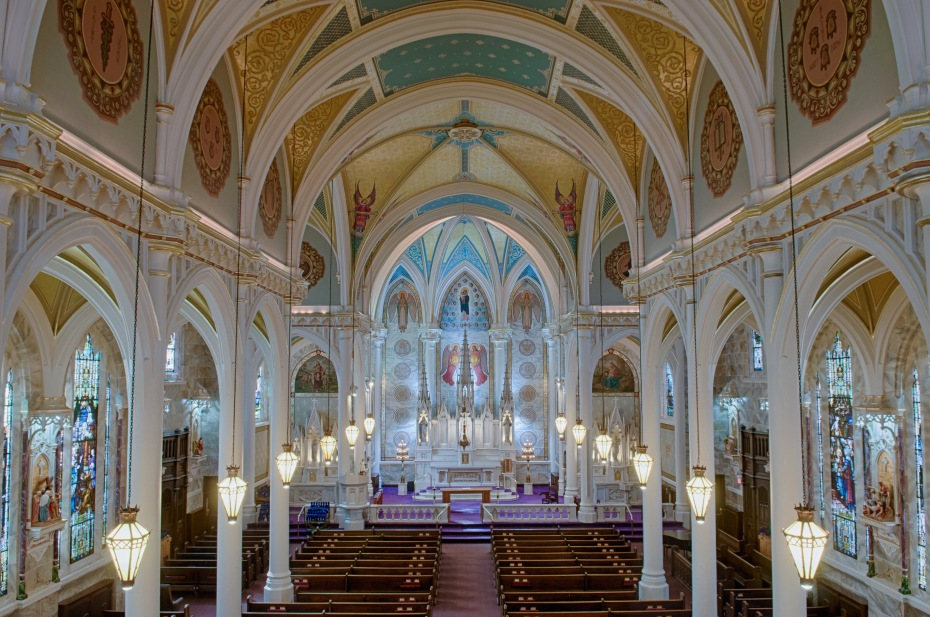 BIG INTERIOR St. Mary's
